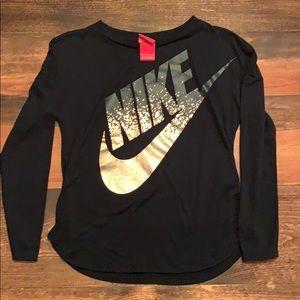 Girls Nike long sleeve shirt